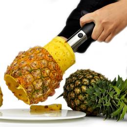 affettatrici di corer ananas di frutta in acciaio inox Sconti La nuova casa dell'acciaio inossidabile Ananas di Corer affetta la taglierina di Parer della taglierina della novità della casa tiene lo strumento pratico della cucina Trasporto libero