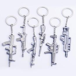 2019 portachiavi pistola Counter strike Fivesevem pistola Portachiavi modello di arma pistola Portachiavi in lega di 12 cm gioielli Llavero Chaveiro sconti portachiavi pistola