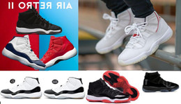 Robes de nuit pour femmes en Ligne-20 couleurs peuvent être choisies Platinum Tint 11 Enfants Sneakers Prom Night Cap et robe 11s XI Gym Red Bred PRM Heiress Hommes Femmes Basketball Shoes