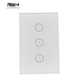Диммер wifi онлайн-Smart Dimmer Switch работа с Alexa/ Google Home / IFTTT настенный выключатель света WiFi Touch Stepless APP пульт дистанционного управления,
