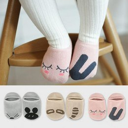 Wholesale Boys Slippers Socks - TongYouYuan Cotton Cute Boys Girls Baby Socks Fashion Cartoon Soft Floor Baby Sock Infant Toddler Newborn Boat Slipper Sock