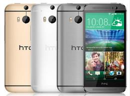 Argentina HTC One M8 desbloqueado GSM / WCDMA / LTE RAM cuádruple 2GB celular HTC M8 5.0 pulgadas 3 cámaras restauradas Suministro