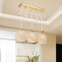 moderno ferro gaiola lâmpada pingente Desconto Novo design moderno LED pingente lustre 3 cabeças de jantar sala de estar decoração de iluminação led luzes pingente de jantar bar clube lâmpadas led
