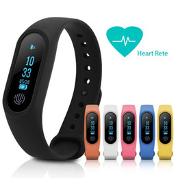 Wholesale pet camera iphone - M2 Smart Bracelet Wristband band Sport Pedometer Fitness Tracker Bracelet Smartband Heart rate Monitor For Iphone ISO