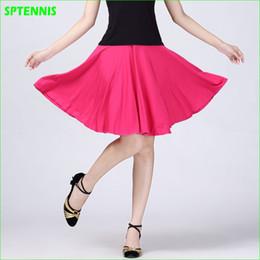 falda de correr xl Rebajas M-5XL Tennis Dance Skirt Mujeres Parte inferior de dos piezas para Yoga Running Outdoor Female Size Extra Anti-exposición