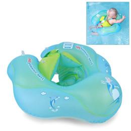 Flotadores inflables de agua online-Envío gratis Intime natación accesorios para el bebé anillo del cuello tubo de seguridad del bebé anillo de flotador Kid inflable tubo de natación entrenador piscina de agua divertido juguete