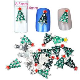 Lucidi per unghie natali online-Nail Tools Nail 10PC Christmas Decorate Beautiful Polish Paillettes Pittura Adesivo alla moda Drop shipping Set28