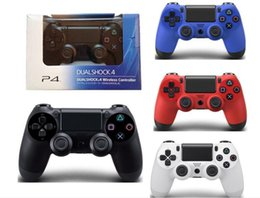 Wholesale Video Game Packaging - High quality PS4 Wireless Game Controller for PlayStation 4 PS4 Game Controller Gamepad Joystick Joypad for Video Games With Retail Package