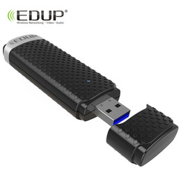 Wholesale Wi Fi Usb Receiver - EDUP 5ghz usb wireless wi-fi adapter high speed 1200mbps usb 3.0 ethernet adapter wifi receiver Windows Mac for notebook desktop