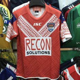 41fa3157163 ONGA RUGBY LEAGUE 2019 HOME JERSEY TONGA RUGBY 2018 TRAINING SINGLET TONGA RUGBY  LEAGUE WORLD CUP 2017 HOME JERSEY size S-XL-3XL-4XL-5XL