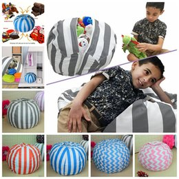 Wholesale Large Beans - Large Bean Chair Toy 80cm Storage Bean Bags Chair Portable Kids Play Mat Clothes Organizer Tool OOA3984