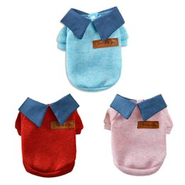 14c41b18e835 cute new years outfits Promo Codes - 3 Color School Style Dog Clothes Cute  Chihuahua Coat