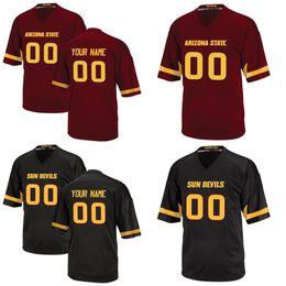 Wholesale Foster Jerseys - Custom Arizona State Sun Devils NCAA College Football 2 Mike Bercovici 42 Pat Tillman 8 Foster 90 Will Sutton Any name number Jerseys