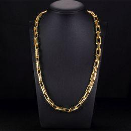 YIXI Vintage Erkek Kolye Zincir Altın Erkekler Için Yeni Trendy Kalın Uzun Zincir Kolye Bohemian Takı Yakası Erkek Kolye cheap bohemian jewelry nereden bohem takı tedarikçiler