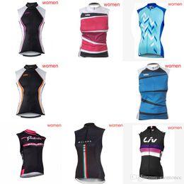 2019 chalecos de bajo precio Equipo de KTM KUOTA Ciclismo Jersey sin mangas Chaleco al aire libre mujeres Sin mangas tops Buena calidad y bajo precio c2209 chalecos de bajo precio baratos