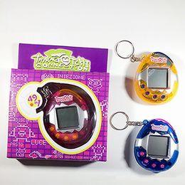 Wholesale Handheld Toys - HOTSALE Dinosaur Egg Tamagotchi Virtual Digital Electronic Pet Game Machine Tamagochi Toy Game Handheld Mini Funny Virtual Pet Machine Toys