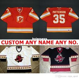 custom Wholesale 2017 New Customize ECHL Atlanta Gladiators Mens Womens  Kids 100% Embroidery Best quality Cheap Hockey Jerseys Goalit Cut Ho c19f265bd