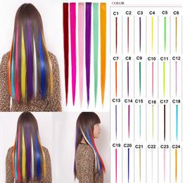 2019 rollperücke 24 Farbe Mode Perücke Stück heiße Rolle schneiden Perücke Stück bunte Europa und Amerika coole Gradienten Haarteil Haarschmuck AAA1050 günstig rollperücke