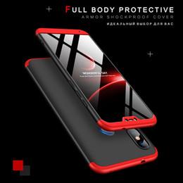 Casos mi nota online-Funda protectora 360 para Xiaomi Mi A2 Lite Xiomi Redmi 5 Plus Nota 6 Pro 4X S2 5A Mi Max3 A1 8SE Coque