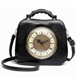 2019 relógio, bolsas 2018 Ameiliyar Real Relógio Bolsa de Ombro Mulheres Sacos de Corpo Cruz Senhora PU Bolsas de Couro À Moda Embreagens Festa À Noite Bolsas desconto relógio, bolsas