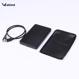 Hochwertige externe festplatte online-Hochwertiger ABS-Kunststoff, schlank, tragbar, 2,5-Festplattengehäuse, USB 2.0, externes Festplattengehäuse SATA-Festplattengehäuse
