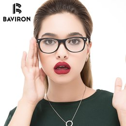 wholesale reading sunglasses Promo Codes - BAVIRON Fashion Bamboo Sunglasses Clear Frame for Men Women Decorative Glasses Women Brand Design Wood Reading Optical Frame