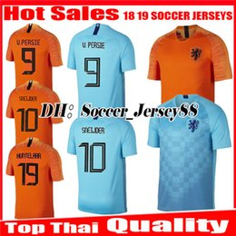 2018 2019 Nederland soccer jerseys V.PERSIE 18 19 uniform Holland home  MEMPHIS SNEIJDER ROBBEN VIRGIL WIJNALDUM Netherlands football shirt 588ba6250
