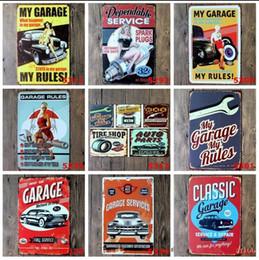 Style européen Garage Sexy Lady Tin Signes Rétro Décoration Murale Rétro Art Artisanat Pub Club Décoration 20 * 30 CM En Métal Signe Tous les 40 Style ? partir de fabricateur