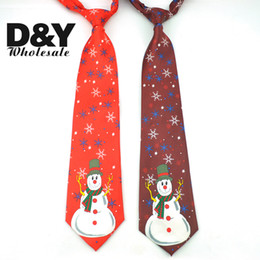 """Wholesale Ma Year - 2017 Fashion Happ New Year Neckties 4 Inch Wide """"Christmas X-MAS""""Design Mix Polyester Woven Classic Men`s Party Tie gift Gravata"""