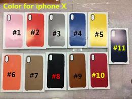 Wholesale iphone slim leather case - For iphone X Official case original untra thin slim cases For iphone 8 plus PU leather back cover for iphone 5 5s SE 6 6s 7 plus iphoneX