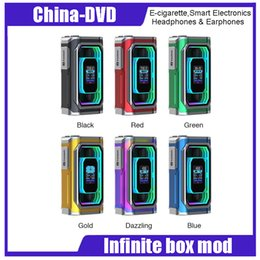 Wholesale e cigarette joyetech - 100% Authentic ESPION Infinite 21700 230W TC Box MOD Huge Power 8000mAh with Dual 21700 Battery Max Output 230W E-cigarette Mods
