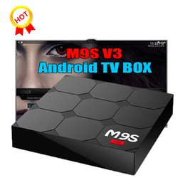 Wholesale v3 tv - 2018 M9S V3 V5 Android TV Boxes Rockchip RK3229 Quad Core 4K wireless WIFI HDMI media player TV OTT set top box Media player
