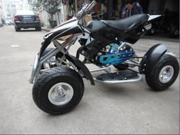 Pequeno brinquedo infantil on-line-49CC cabeça de águia pequeno quadriciclo de quatro rodas ATV carro de brinquedo adulto veículo off-road mini moto de quatro rodas