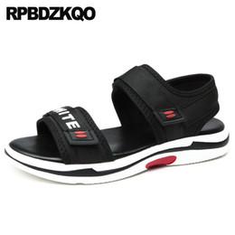 106c9bad4dc57b Men Mens Sandals 2018 Summer Outdoor Strap Nice Designer Sport Beach  Japanese Flat Sneakers Platform Shoes Black Casual Mesh