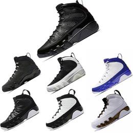 027aec295181d Venta al por mayor zapatos de hombre 9 zapatos de baloncesto 9s todo negro  alto todo rojo fresco gris The Spirit zapatos de baloncesto de hombre altos  ...