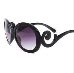 Wholesale ladies big sunglasses - Fashion vintage Sunglasses Women Luxury Brand Designer Oversized Sun Glasses Ladies UV400 For Female Big Frame de sol Shades
