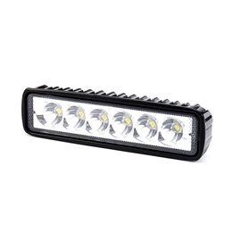 Wholesale Offroad Spotlights - Pampsee 1pcs 18W 12V 6000k 1200lm Spotlight Flood Lamp Driving Fog Offroad LED Work Car Lights for Jeep SUV 4WD Boat Truc