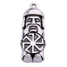 Dawapara Domovoi Greybeard Hombre Eslavo Colgante Amuleto Charm Joyería Declaración Collar Figura Símbolos para Hombres y Mujeres desde fabricantes