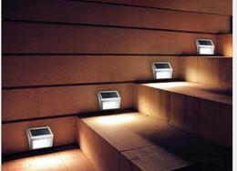 2019 lampade a casa di senso La lampada solare della scala ha condotto la lampada di via della lampada esterna del giardino di rilevamento solare della casa di punto sconti lampade a casa di senso