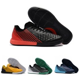 Wholesale game indoor - New Top MagistaX Finale II IC mens soccer shoes MD Flat Turf football Boots Game Trainer soccer cleats Sneakers Size 39-45
