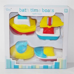 Wholesale Toy Boat Bath Water - Baby Funny Bath Toy Children Shower Room Water Boat Gift Simulated Small Sailboat Parent Child Toys 6 25hg W
