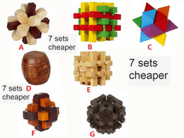 Wholesale old fashion toys - Fashion Kids Toys Educational Wooden Model Cube Puzzle Toy for Baby Birthday Gift