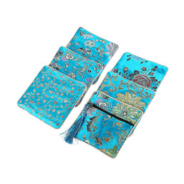 handmade bags sale UK - Hot Sale Bag Gift Classic Chinese Embroidery Jewelry Bag Storage Organizer Small Pouch Handmade Embroideries Earphone Bag
