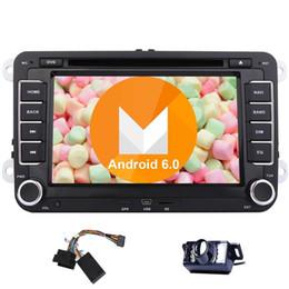 EinCar Quad Core Android 6.0 автомобильный DVD-плеер для VW PASSAT Golf двойной Din автомобильный стерео GPS навигация 7