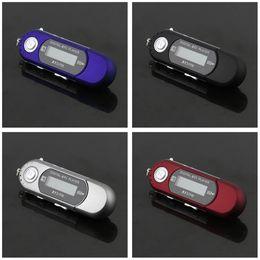 flash player mp3 Desconto 5 pcs mini usb 2.0 flash drive de alta velocidade de transferência display lcd mp3 player de música
