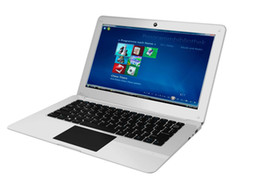 Wholesale intel bluetooth - 12.5Inch VIA 1288A Cortex Quad Core 1.5GHZ allwinner A64 1GB ram 16GBr MINI Netbook Laptop with WIFI 1GB 8GB Ethernet External 3G HDMI 1080P