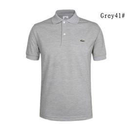 2018 Marke Bee Stickerei Herren Polo Shirts Mode Muster Kurzarm Hohe Qualität Gerade 100% Baumwolle Polos Männlich 20 Farben von Fabrikanten
