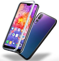 2019 nova fälle Magnetische Adsorption gehärtetes Glas zurück Fall für Huawei P20 Pro P20 Lite P30 Pro P30 Nova 3i 3 Mate 20Pro Mate 10 Pro günstig nova fälle