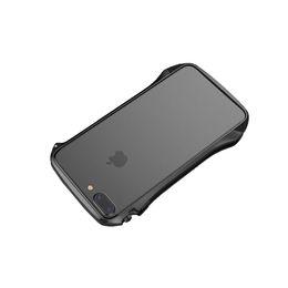 iphone frame rose gold UK - For iphone7plus 8plus Slim Bumper Case (NO Back) Flexible Soft Metal Frame Cell Phone Cover for iphone7plus 8plus Case