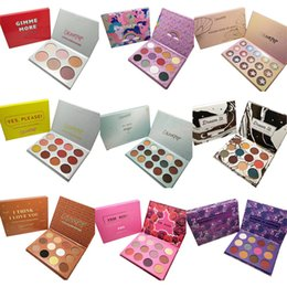 Encanto de paleta online-Cosméticos de modelado paletas de sombras de ojos encantadores ColourPop 9 de 12 de estilo fashiond paleta de colores de sombra de ojos del epacket